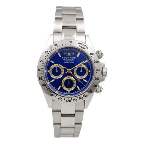 素敵な TECHNOS/テクノス T4272SN ブルー×ゴールド 腕時計 腕時計 オールステンレス 正規品 サファイアガラス メンズ 正規品 新品, マツオカチョウ:77e4062e --- airmodconsu.dominiotemporario.com