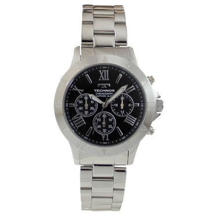 完成品 TECHNOS/テクノス T4274SB 正規品 ブラック 腕時計 オールステンレス サファイアガラス メンズ 正規品 腕時計 新品 新品, 水沢万葉亭:12babdf2 --- airmodconsu.dominiotemporario.com