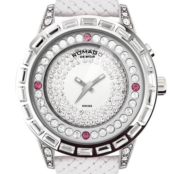 【2019 新作】 ロマゴデザイン[ROMAGO DESIGN]腕時計 DESIGN]腕時計 Dazzle series series Dazzle ダズルシリーズ/RM006-1477SV-WH, 箸屋助八:56648f63 --- airmodconsu.dominiotemporario.com