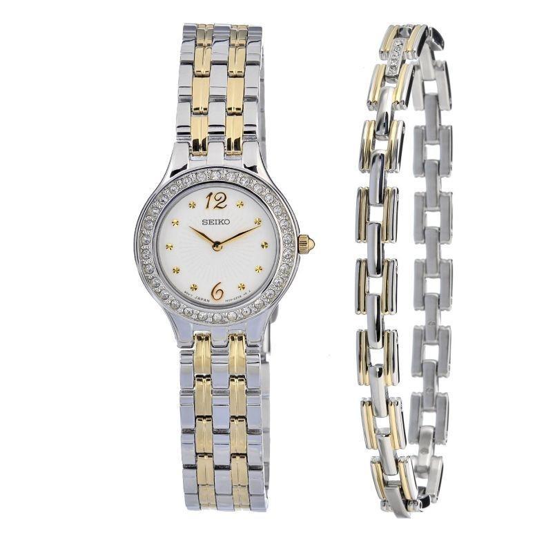 完売 セイコー SEIKO 女性用 腕時計 レディース ウォッチ ホワイト SUJG29, 金屋町 b6fb3d76