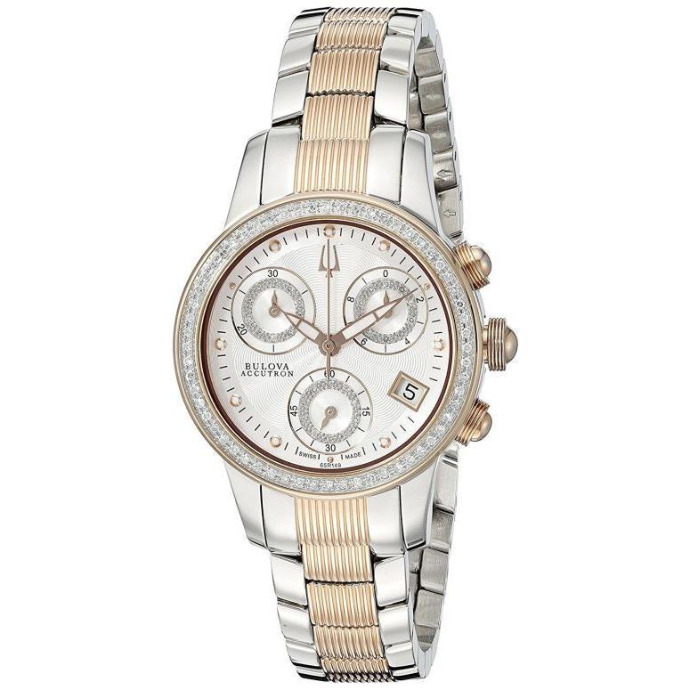 割引クーポン ブローバ Bulova 女性用 腕時計 レディース ウォッチ シルバー 65R149, 衣類&ブランドリサイクル GREEN 59928a8e