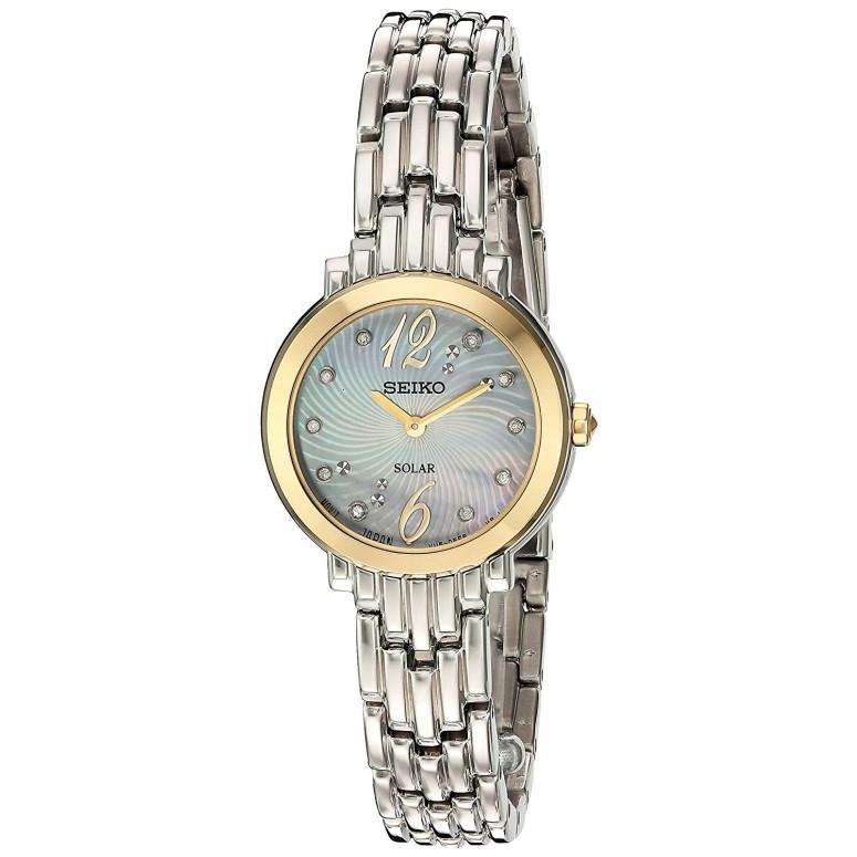 【良好品】 セイコー SEIKO 女性用 腕時計 レディース ウォッチ パール SUP354, 可愛いエコバッグ AIRY&CO. 1b770b13