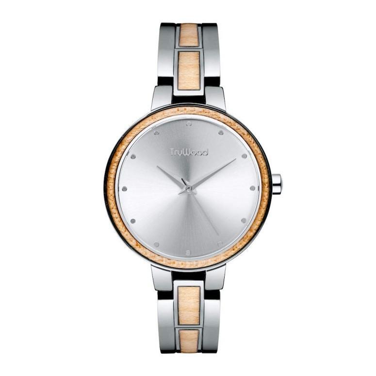 大切な トゥルーウッド truwood ウォッチ ウッドウォッチ 木製腕時計 女性用 腕時計 レディース 腕時計 ウォッチ シルバー 女性用 3060412401076, アレキサンダースコレクション:5e803d6d --- airmodconsu.dominiotemporario.com