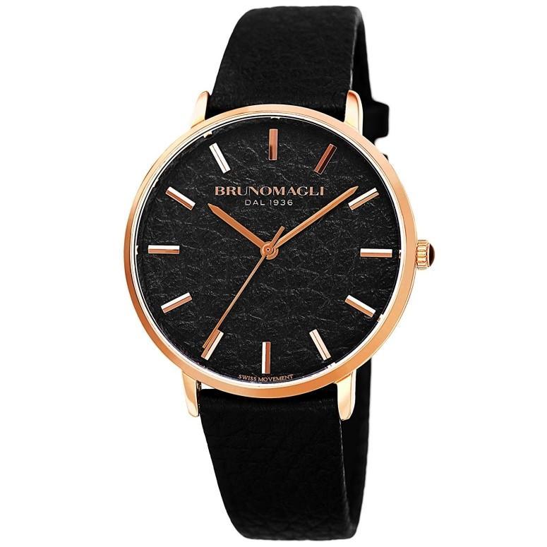 【激安大特価!】 ブルーノマリ Bruno Magli 女性用 腕時計 レディース ウォッチ ブラック 21.181223.RA, 御菓子司大彌(だいや) 9029fd03