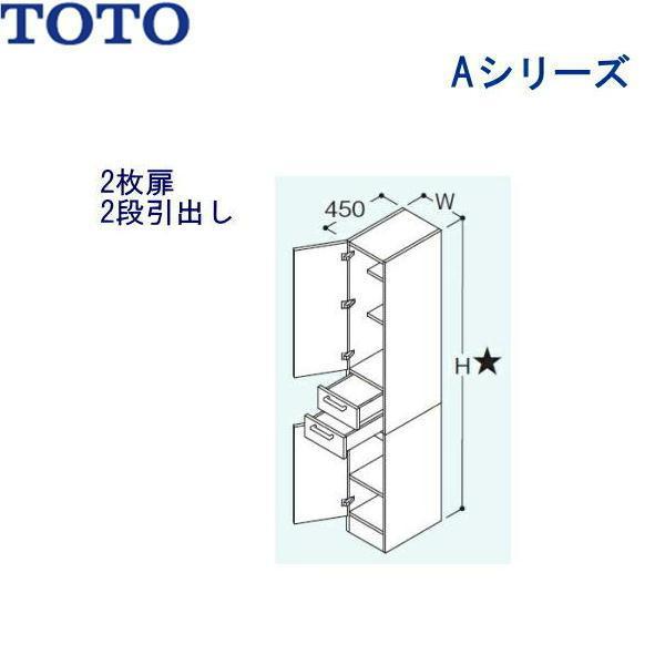 [暮らしのクーポン対象ストア]TOTO[Aシリーズ]トールキャビネットLTSA300BR/L[間口300mm][送料無料]