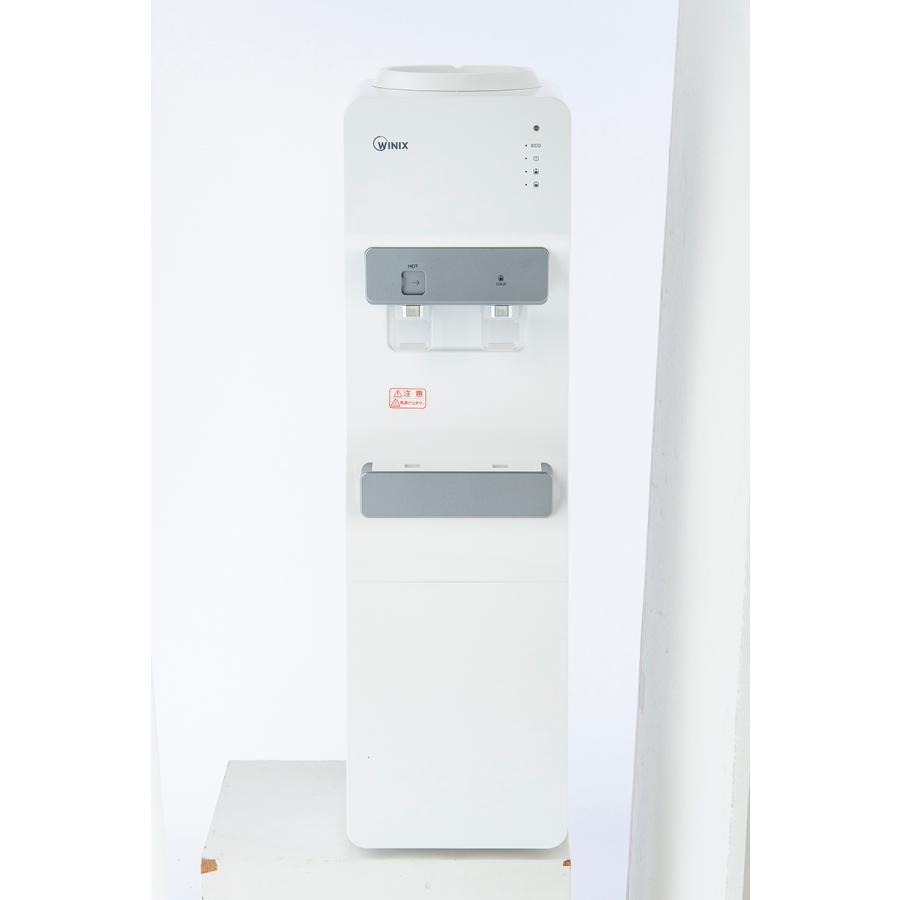 ウォーターサーバーWYT-100 床置き 業務用 家庭用 本体 ホワイト 温水 冷水 コンプレッサー式 エコモード 送料無料|waterea|02