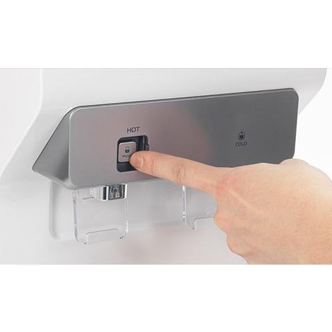 ウォーターサーバーWYT-100 床置き 業務用 家庭用 本体 ホワイト 温水 冷水 コンプレッサー式 エコモード 送料無料|waterea|04