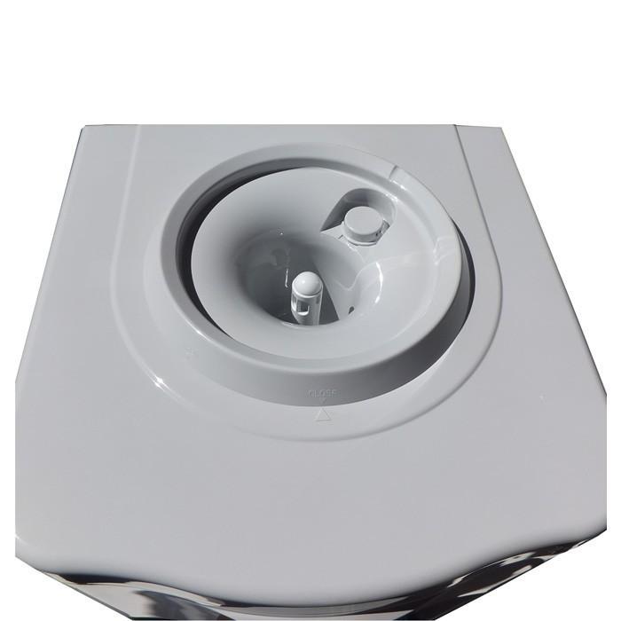 ウォーターサーバー604H 卓上 業務用 家庭用 本体 コンパクト 温水 冷水 コンプレッサー式 送料無料|waterea|04