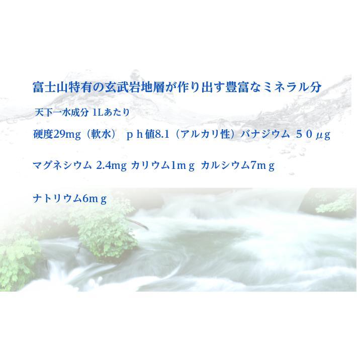 本州送料無料 富士の天下一水12L 12L×2本 ウォーターサーバー対応ペットボトル 国産ミネラルウォーター バナジウム含有量67μg 代引き不可|waterea|02