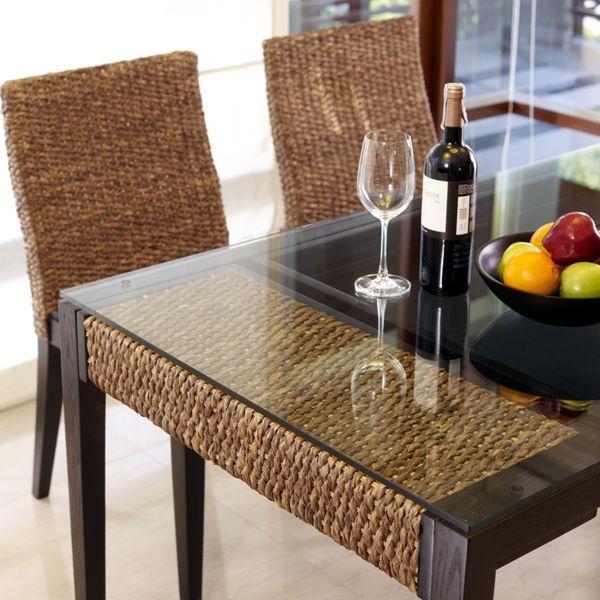 アジアン家具 テーブル セット ウォーターヒヤシンスダイニング5点セット PERFORMAX純正品