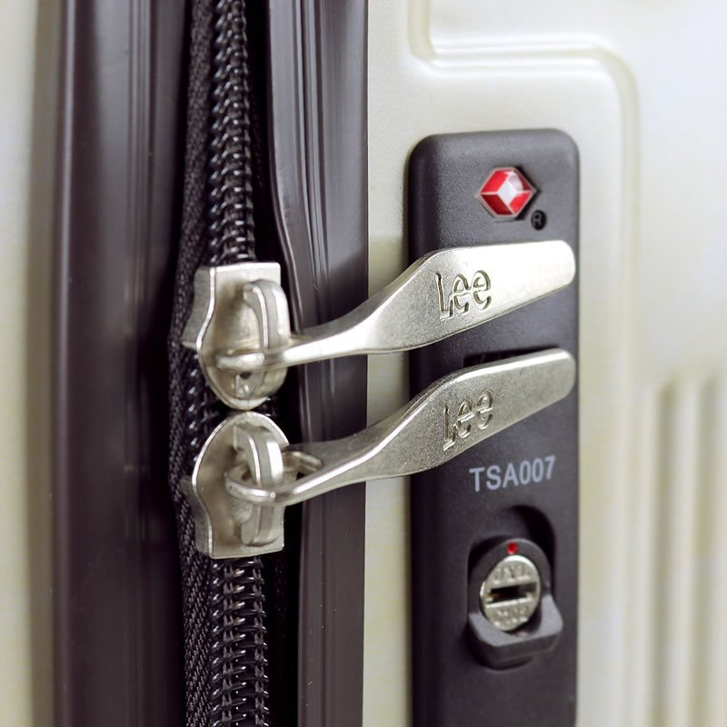 Lee リー  スーツケース キャリーケース 50L 56cm 3.73kg 2〜3泊 4輪 TSAロック 軽量 ファスナー式 320-9001 レディース 送料無料|watermode|09
