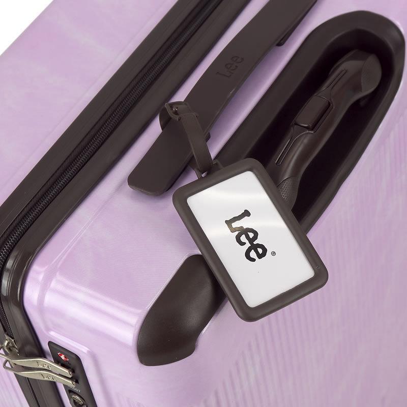 Lee リー  スーツケース キャリーケース 50L 56cm 3.73kg 2〜3泊 4輪 TSAロック 軽量 ファスナー式 320-9001 レディース 送料無料|watermode|10