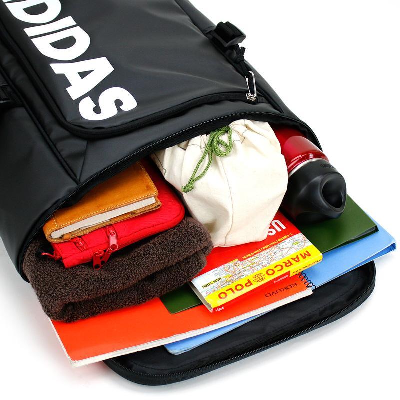 adidas アディダス  パルトナーA スクエアリュック リュックサック デイパック バックパック 23L B4 撥水 57572 メンズ レディース ジュニア 送料無料|watermode|03
