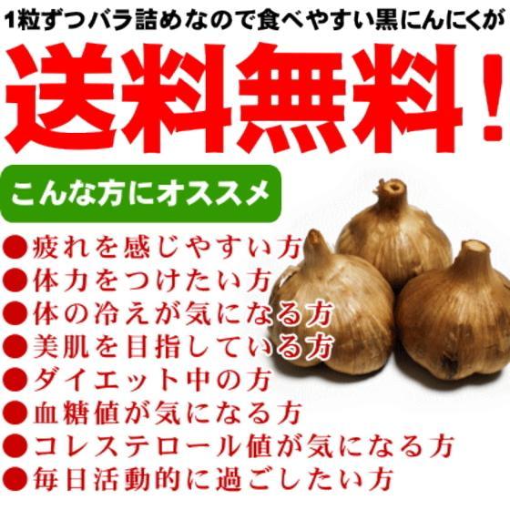 黒にんにく 青森 500g 送料無料 wattudo 04
