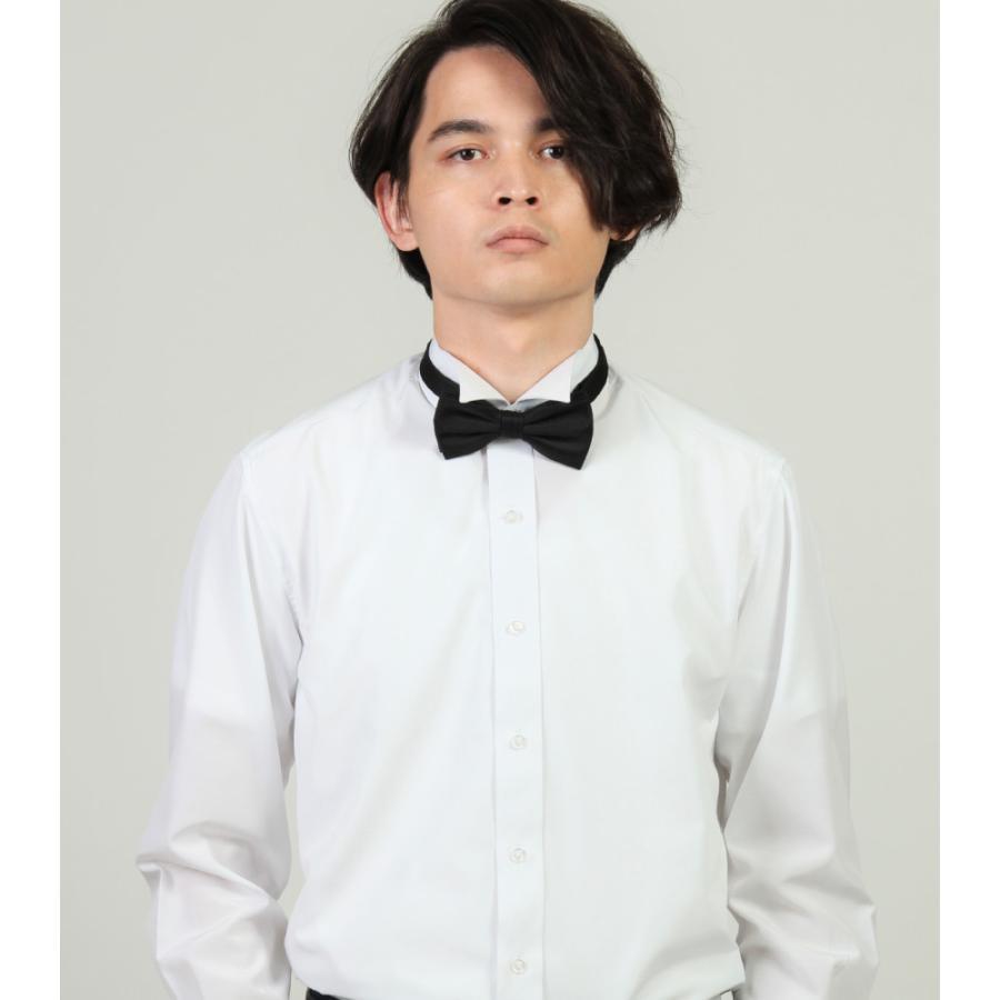 ウイングカラー フォーマル ブライダル シャツ 結婚式 モーニング バーテンダー タキシード ドレス ウイングカラー K-2|wawajapan|02