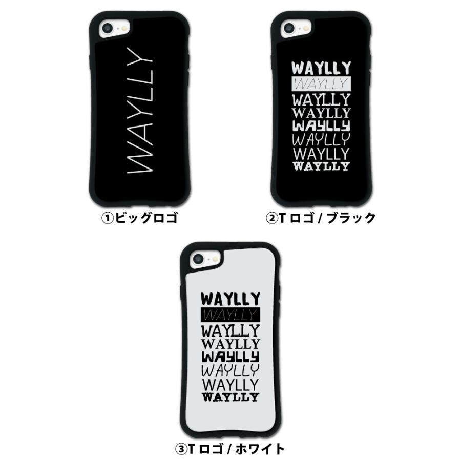 iPhone8 7 6s 6 SE 第2世代 ケース スマホケース メインロゴ 耐衝撃 シンプル おしゃれ くっつく ウェイリー WAYLLY _MK_|waylly|02
