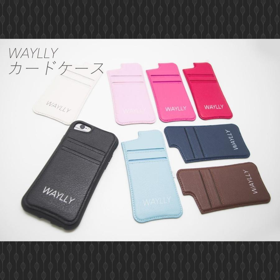 iPhone8 7 6s 6 SE 第2世代 ケース スマホケース メインロゴ 耐衝撃 シンプル おしゃれ くっつく ウェイリー WAYLLY _MK_|waylly|11