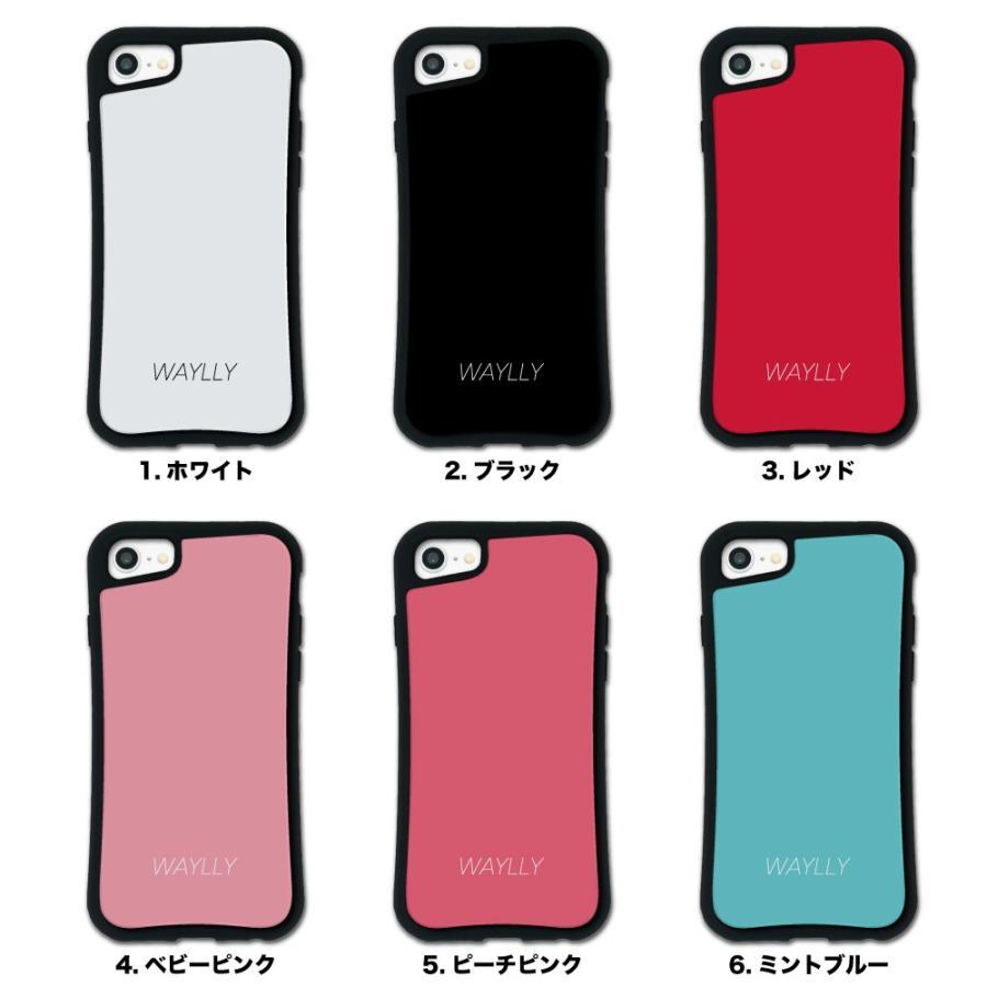 iPhone8 7 6s 6 SE 第2世代 ケース スマホケース スモールロゴ 耐衝撃 シンプル おしゃれ くっつく ウェイリー WAYLLY _MK_|waylly|02