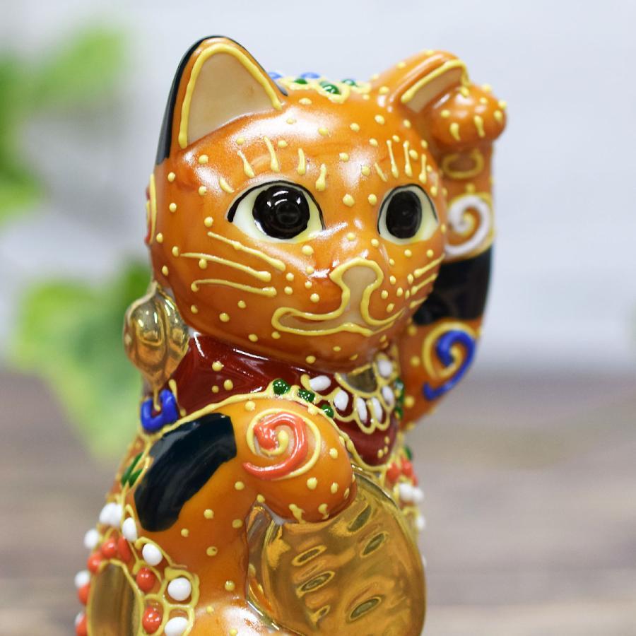 招き猫 置物 風水 踊るほど福を招く!九谷焼 踊る招き猫|waza