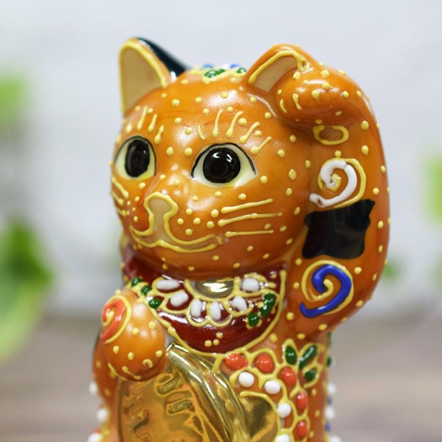 招き猫 置物 風水 踊るほど福を招く!九谷焼 踊る招き猫|waza|06