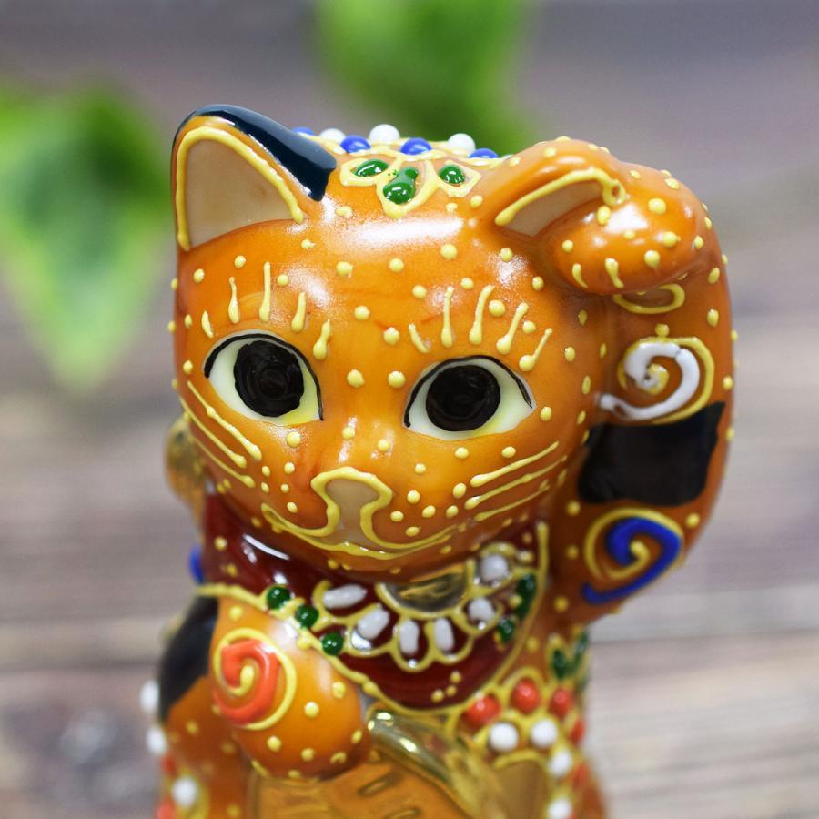 招き猫 置物 風水 踊るほど福を招く!九谷焼 踊る招き猫|waza|07