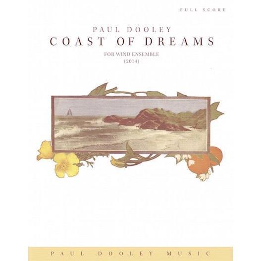 (楽譜) コースト·オブ·ドリームス / 作曲:ポール·ドゥーリー (吹奏楽)(パート譜のみ-レンタル)