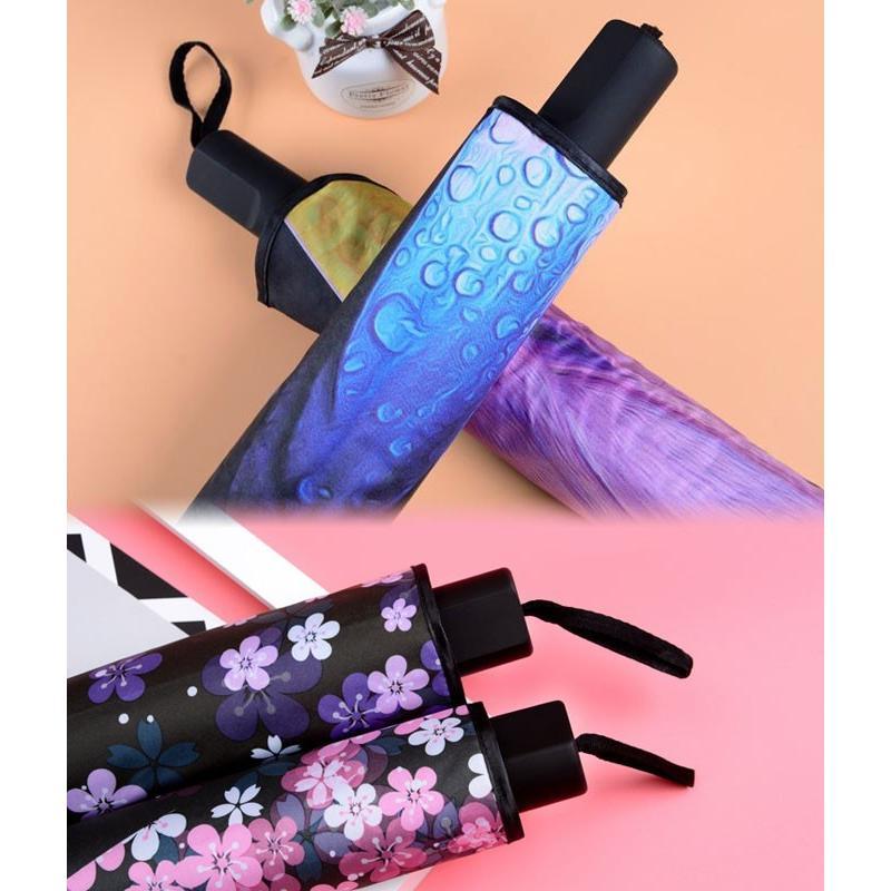 折りたたみ傘 日傘 晴雨兼用 レディース 大きい 丈夫 折りたたみ 遮光 uv対策|wc-y|18