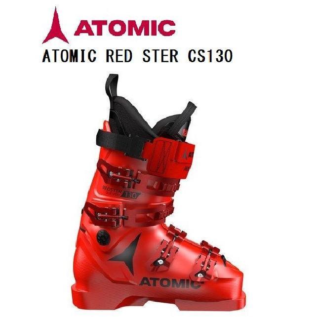 19-20 アトミック スキーブーツATOMIC 赤STER CLUB SPORT 130 AE5019880