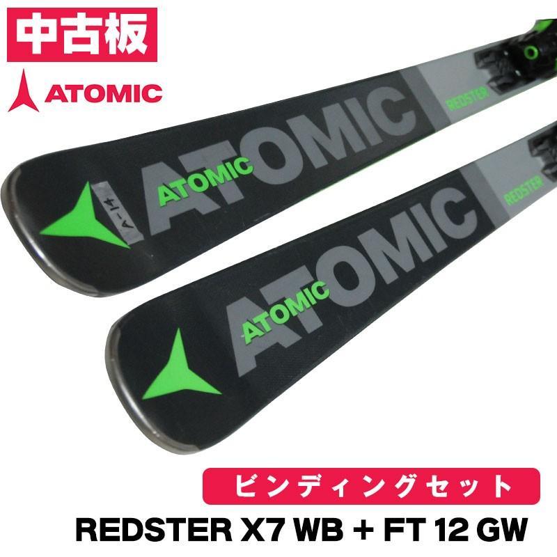上等な 2020 ATOMIC スキー板  試乗板 アトミック REDSTER X7 WB + FT 12 GW AASS02084 A14 160cm チューンナップ済み HOT WAX マシン仕上げ, Crescent Mirror 994f386b