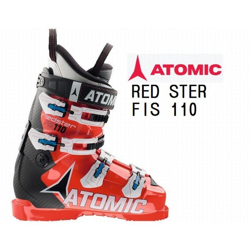 アトミック スキーブーツ ATOMIC 赤STER FIS 110 AE5012780 スキーブーツ