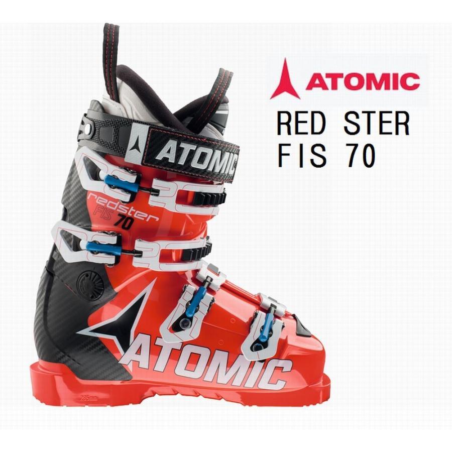 アトミック スキーブーツ ATOMIC 赤STER FIS 70 AE5012820 スキーブーツ
