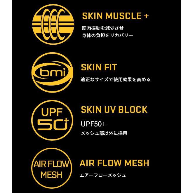 スキンズ インナー SKINS DNAmic Thermal Cllection ロングスリーブトップモック メンズ DK0001074 日本正規入荷商品 サーマルタイプ 保温 スキー用品|we-love-snow|03