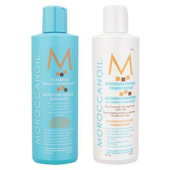 モロッカンオイル モイスチャーリペアシャンプー&コンディショナー 250ml|web-beauty