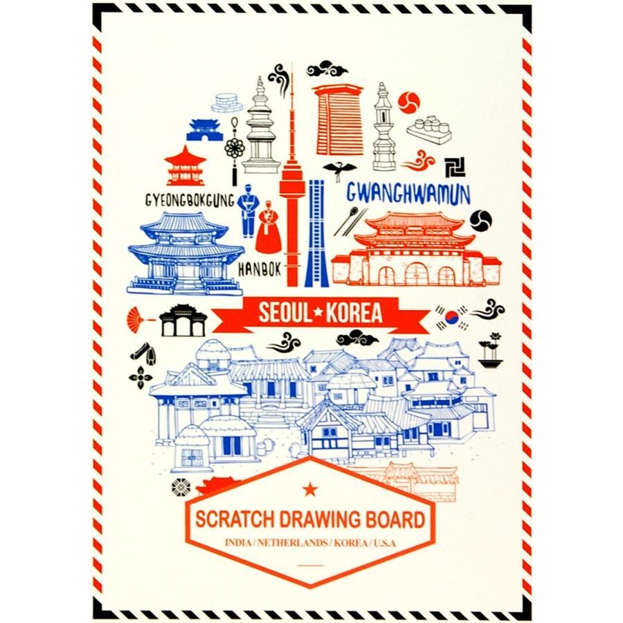 SEI Scratch Drawing Board (Indea,Natherlands,Korea,U.S.A) web-shop-big2