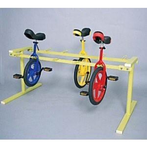 組立式一輪車ラック10
