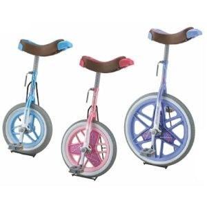 カラー一輪車(スタンド付・16インチ) ピンク