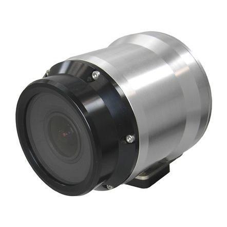 【送料無料】ワテック カラーカメラ(電源重畳型防水カメラ) WAT-400D(PAL)