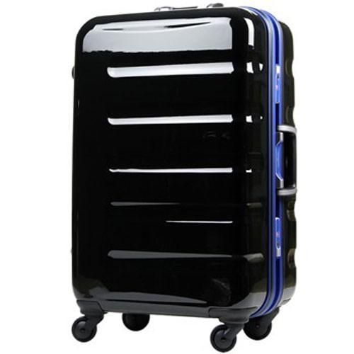 【お買得!】 T&S ティーアンドエス LEGEND WALKER HARD CASE 6016 METAL FRAME PC100%鏡面仕上げ日乃本キャスター搭載スーツケース 70cm ブラックブルー 6016-70-BK-BL, PAWNSHOP RiZ 46d52dd6