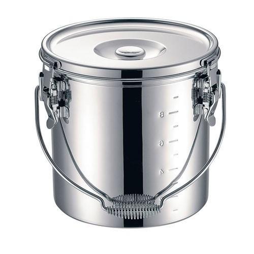 本間製作所 KO 19-0 電磁調理器対応 スタッキング給食缶 33cm ASYG607