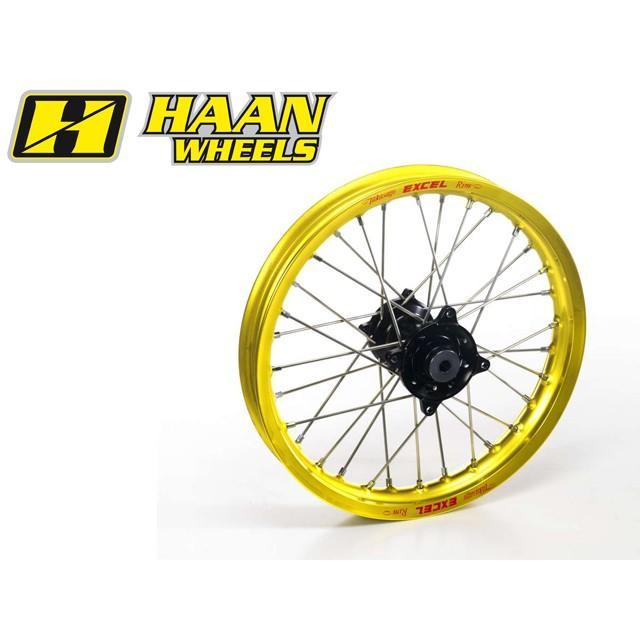 【Tポイント5倍開催中!!】 HAAN WHEELS ハーンホイール フロントモタードコンプリートホイール F2.50/17インチ HONDA CR 85 (96-09)
