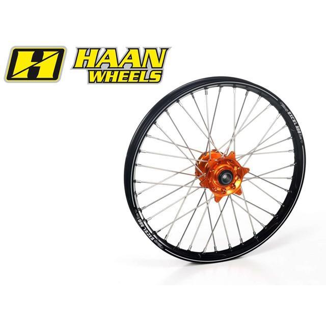 【一部予約!】 HAAN WHEELS ハーンホイール フロントオフロードコンプリートホイール F17インチ HONDA CRF 150 small wheel (07-14), 梅林堂 bc7b6388
