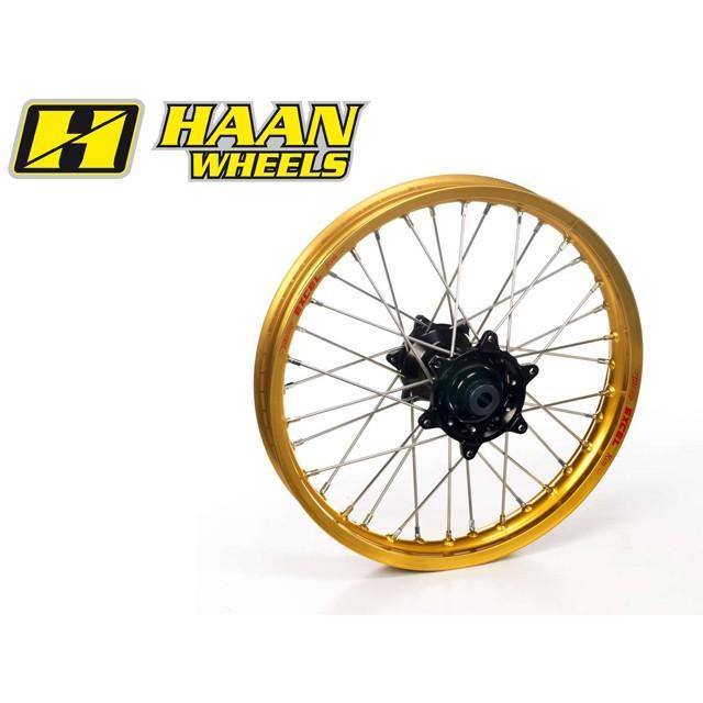 交換無料! HAAN WHEELS ハーンホイール リアオフロードコンプリートホイール R1.85/19インチ HONDA CR125(00-01), 正規 d23237da