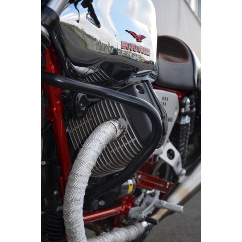 Moto Guzzi V7 Stone//Special//Racer RD Moto Crash Bars Protectors New CF44KD