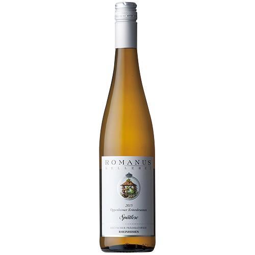業務店御用達 誕生日 ワイン ロマノス ケラーレイ オッペンハイマー クレーテンブルネン シュペートレーゼ 白:750ml×6本セット wine (58-0)