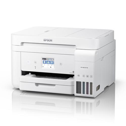 EPSON A4カラーインクジェット複合機/エコタンク搭載モデル/4色/有線·無線LAN/Wi-Fi Direct/両面/2.4型タッチパネル EW-M670FTW