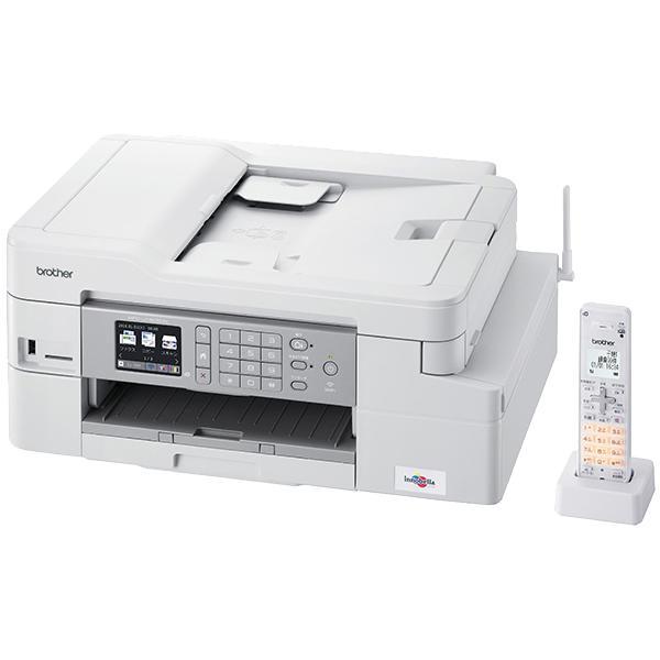 brother A4インクジェット複合機/FAX/ADF/デジタル子機1台/有線·無線LAN/多目的トレイ/両面印刷 MFC-J1605DN