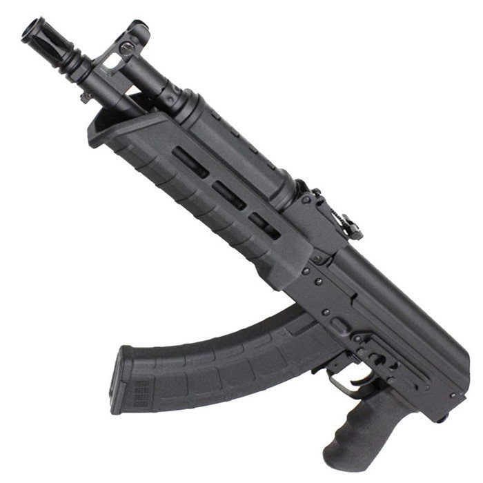 【AKフェア!40%OFF!】CM077C Century Arms RAS47 Pistol フルメタル電動ガン BK【180日間安心保証つき】
