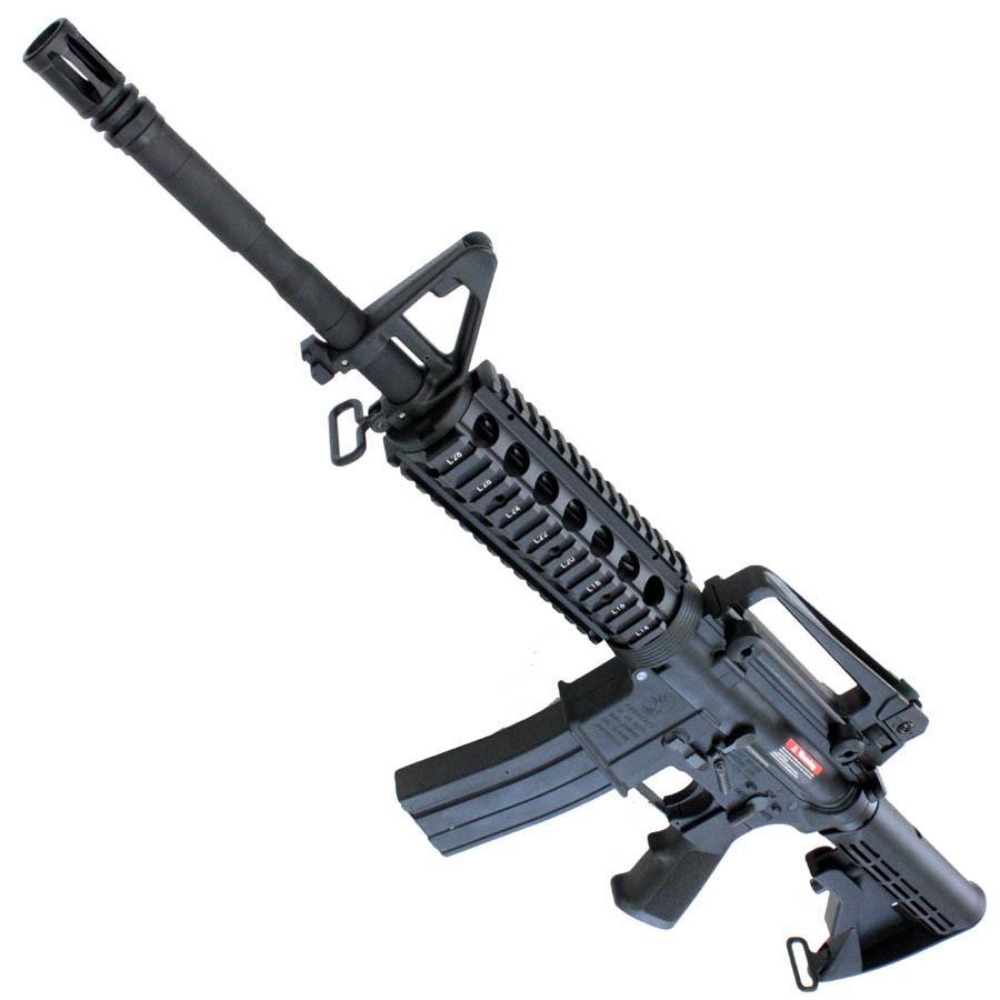 【店内全品2%OFF!】S&T M4A1 RIS フルメタル ガスブローバック BK