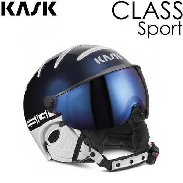 KASK ヘルメット 2019 CLASS SPORT Navy(ネイビー) SHE00027206 バイザーヘルメット クラス スポーツ 18-19 KASK ヘルメット スキー