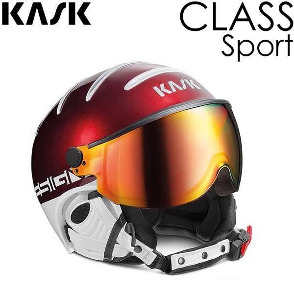 2019年新作入荷 バイザー付きスキーヘルメット KASK ヘルメット CLASS 2019 CLASS ヘルメット SPORT Ruby(レッド) クラス SHE00027204 バイザーヘルメット クラス スポーツ 18-19 KASK, 公式ライセンスアクセ専門店J-Plus:49535992 --- airmodconsu.dominiotemporario.com